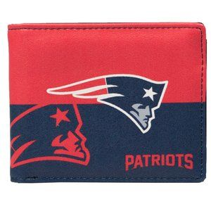 NFL New England Patriots Bi-Fold Wallet